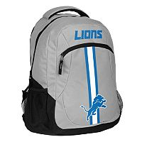 Forever Collectibles Detroit Lions Action Stripe Backpack