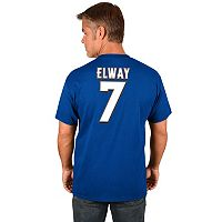 Men's Majestic Denver Broncos John Elway Hall of Fame Eligible Receiver Tee