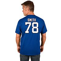 Men's Majestic Buffalo Bills Bruce Smith Hall of Fame Tee