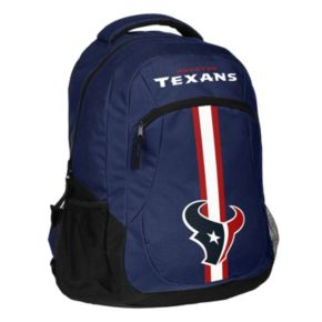 Forever Collectibles Houston Texans Action Stripe Backpack