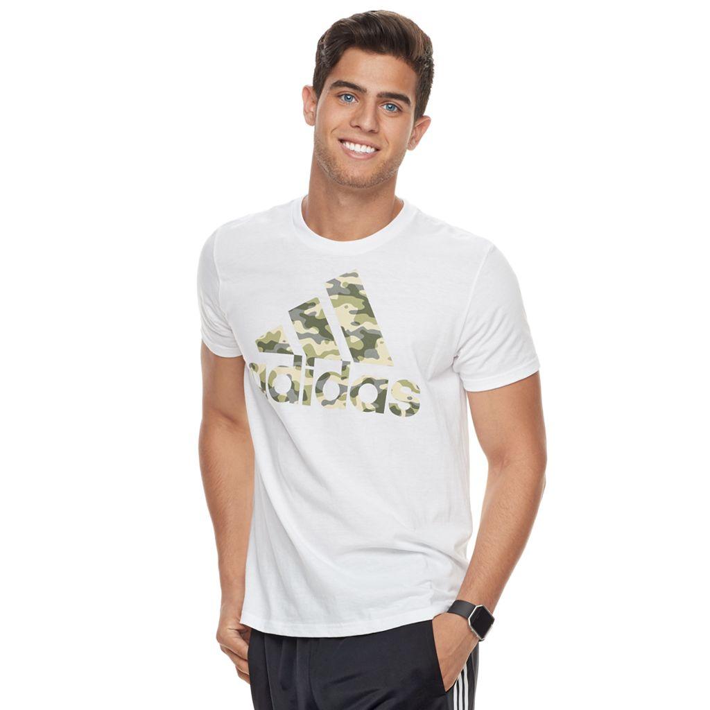 Men's adidas Camouflage Logo Tee