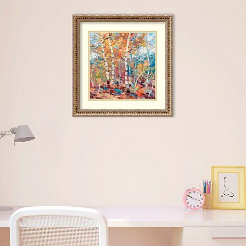 Amanti Art Birch Colors 1 Framed Wall Art