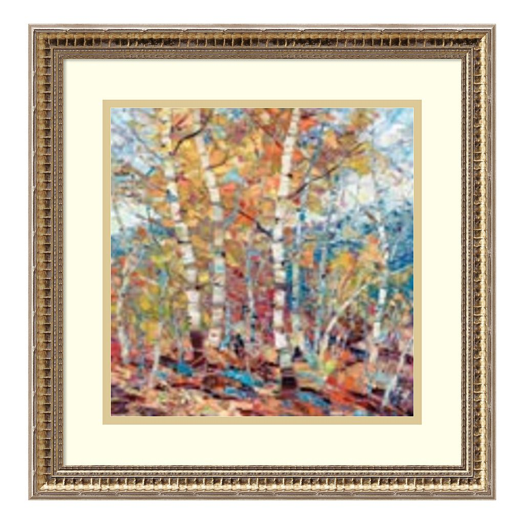 Amanti Art Birch Colors 1 Framed Wall Art
