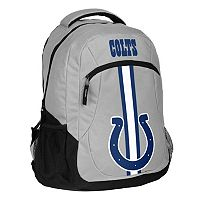 Forever Collectibles Indianapolis Colts Action Stripe Backpack