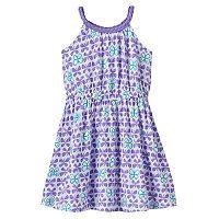 Toddler Girl Jumping Beans® Foiled Butterfly Tank Dress