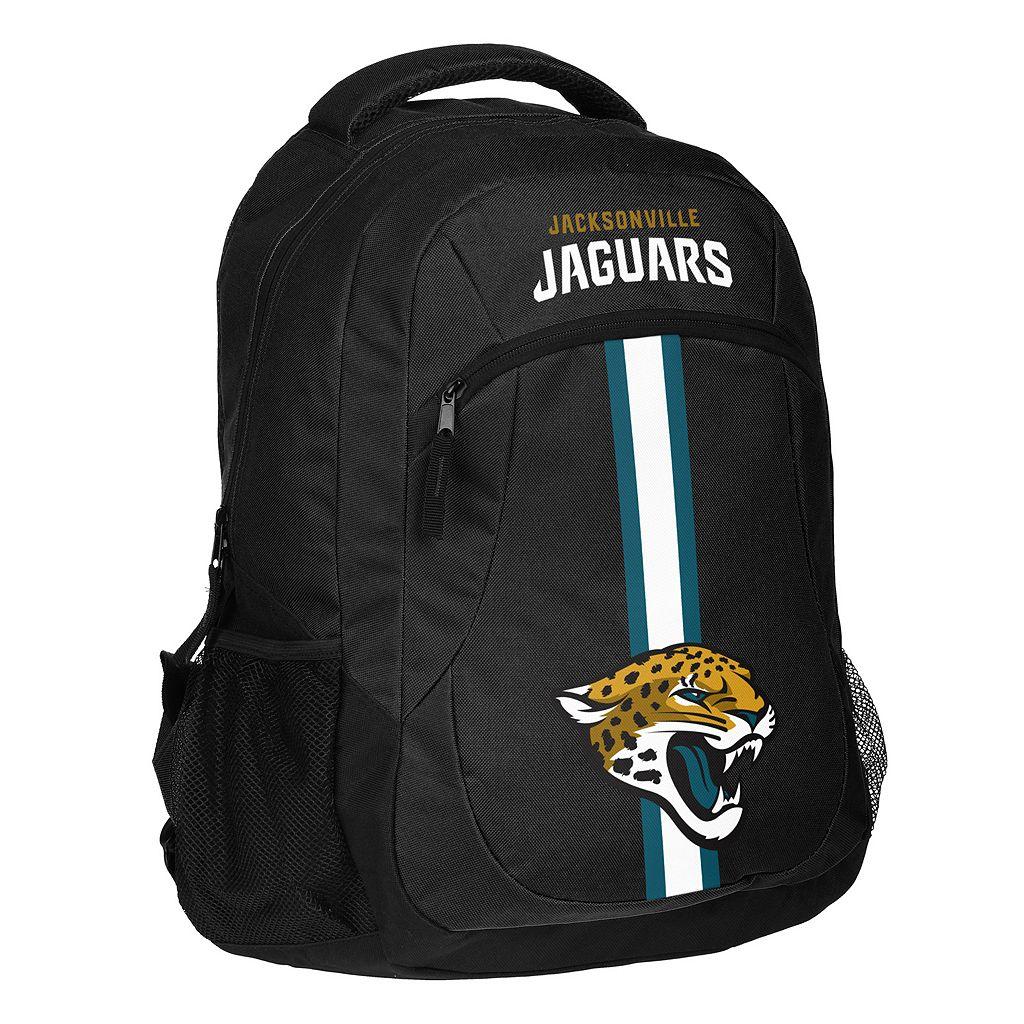 Forever Collectibles Jacksonville Jaguars Action Stripe Backpack