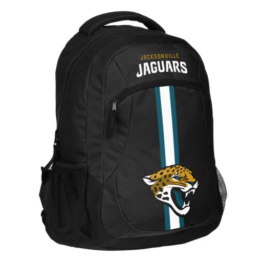 Forever Collectibles Jacksonville Jaguars Action Stripe Backpack