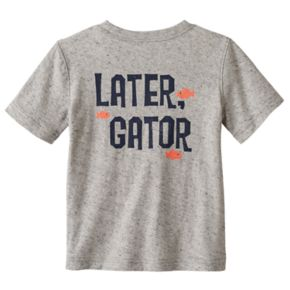 "Toddler Boy Jumping Beans® ""Later Gator"" Slubbed Graphic Tee"