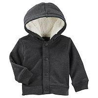 Baby Boy OshKosh B'gosh® Snap Front Sherpa Hoodie