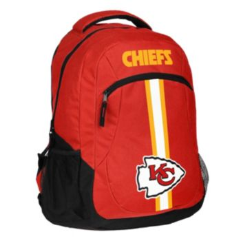 Forever Collectibles Kansas City Chiefs Action Stripe Backpack