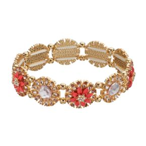LC Lauren Conrad Flower Link Stretch Bracelet