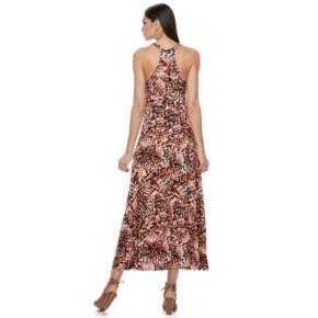 Petite Jennifer Lopez Racerback Maxi Dress