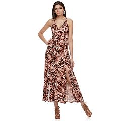Petite Jennifer Lopez Racerback Maxi Dress