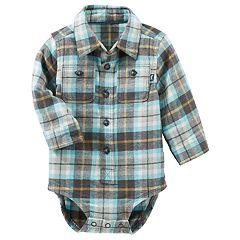 Baby Boy OshKosh B'gosh® Plaid Bodysuit