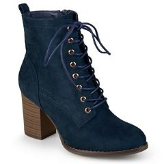 cfb4457850d78 Womens Blue Journee Collection Booties Ankle Boots - Shoes