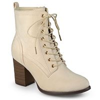 Journee Collection Baylor Women's Block Heel Ankle Boots