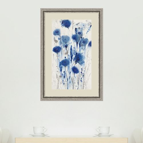 Amanti Art Blue Impressions I Framed Wall Art