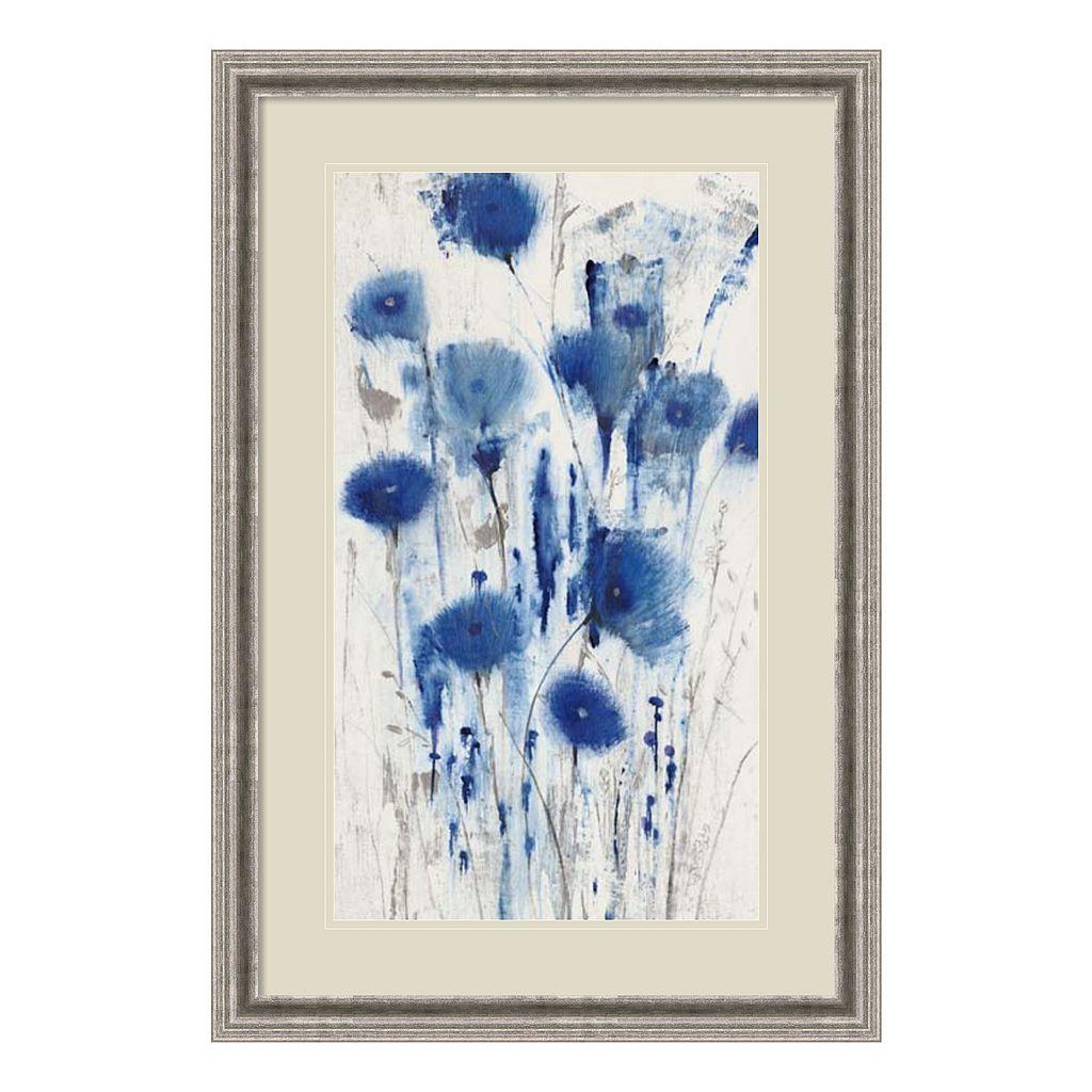 Amanti Art Blue Impressions I Framed Wall Art