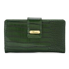 Buxton Nile Exotic Checkbook Organizer Superwallet