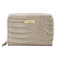 Buxton Nile Exotic Zip-Around Wallet