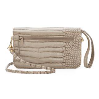 Buxton Nile Exotic Mini Convertible Crossbody Bag