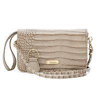 Buxton Nile Exotic Mini Convertible Crossbody Bag