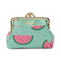 Buxton Fruit Punch Pik-Me-Up Triple Frame Kiss-Lock Coin Purse