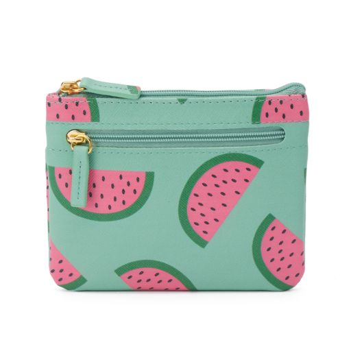 Buxton Fruit Punch Pik-Me-Up Coin Purse with Card Case