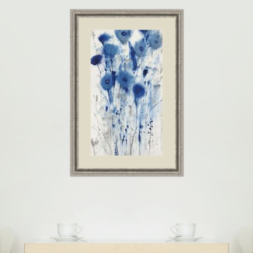 Amanti Art Blue Impressions II Framed Wall Art