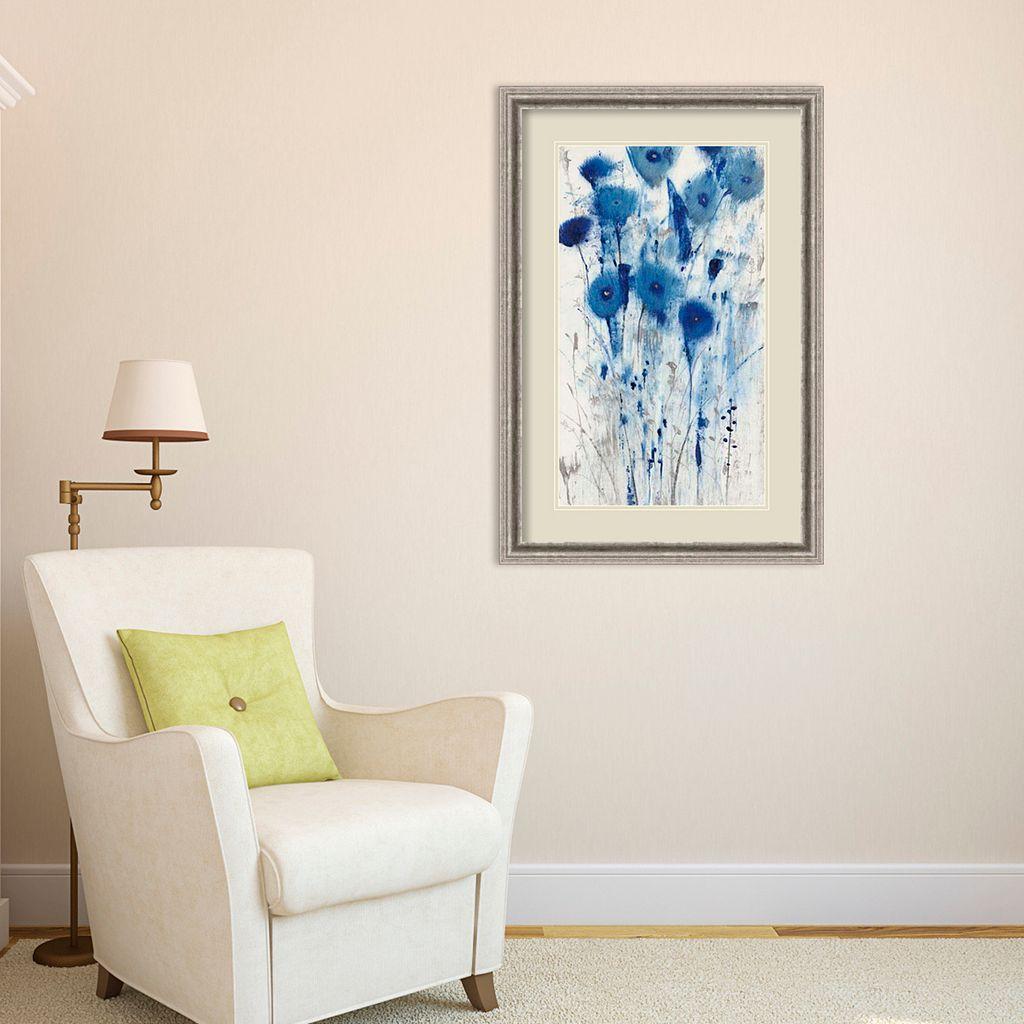 Amanti Art Blue Impressions II Framed Wall Art