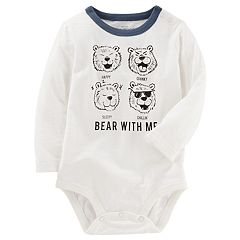 Baby Boy OshKosh B'gosh® 'Bear With Me' Graphic Bodysuit