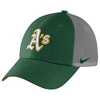 Adult Nike Oakland Athletics Heritage86 Dri-FIT Adjustable Cap