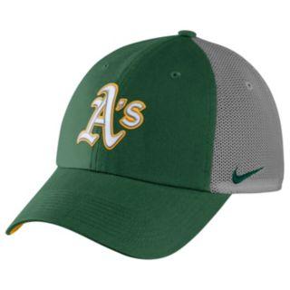 Adult Nike Oakland Athletics Heritage86 Dri-FIT Adjustable Cap