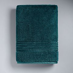 Simply Vera Signature Bath Towel Celadon Charcoal Dark Teal