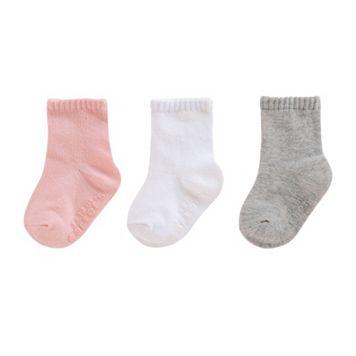 Baby Girl / Toddler Girl Carter's 3-pk. Basic Crew Socks