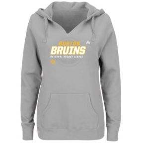 Plus Size Majestic Boston Bruins Pullover Hoodie