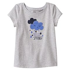 Toddler Girl Jumping Beans® 'Hello Spring' Applique Tee