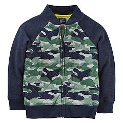 Toddler Boy OshKosh B'gosh® Jersey Camo Bomber Jacket