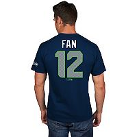Men's Majestic Seattle Seahawks Fan Draft Tee