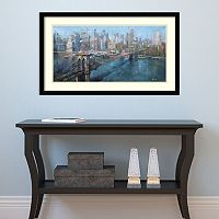 Amanti Art Brooklyn Bridge Framed Wall Art