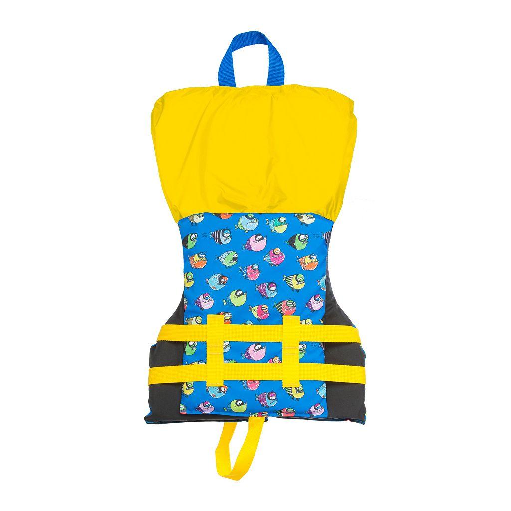 Airhead Crayon Fish Child Flotation Vest