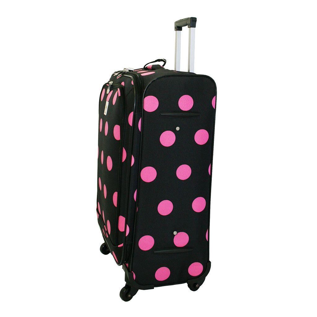 Jenni Chan Dots 360 Quattro Spinner Luggage