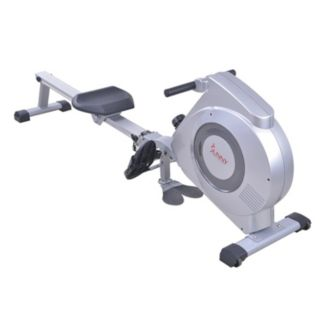 Sunny Health & Fitness Dual Function Rowing Machine