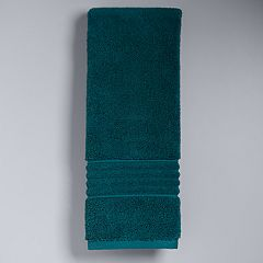 Simply Vera Signature Hand Towel Celadon Charcoal Dark Teal