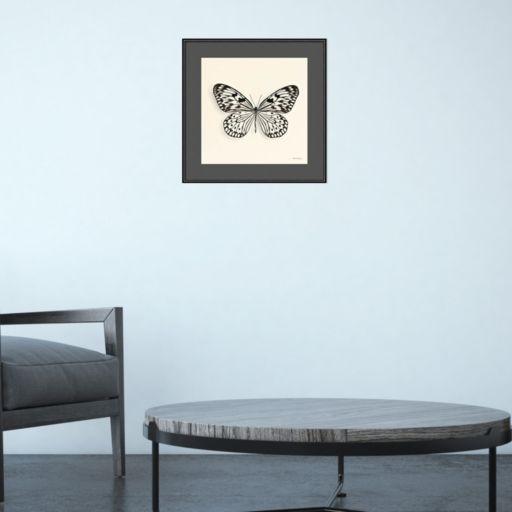 Amanti Art Butterfly V Framed Wall Art