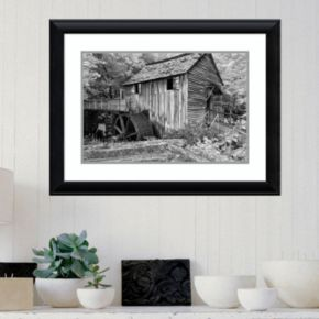 Amanti Art Cable Mill Cades Cove Framed Wall Art