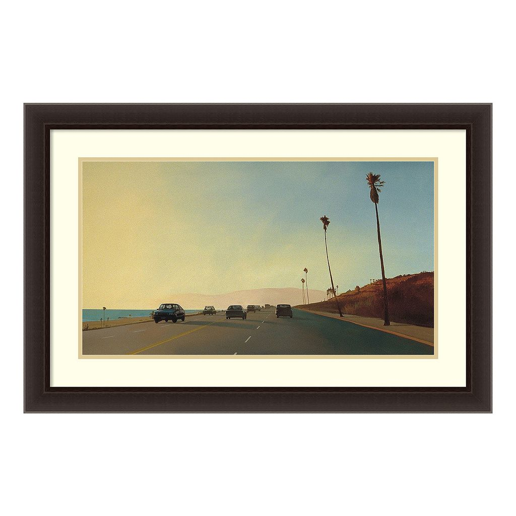 Amanti Art California Road Chronicles 16 Framed Wall Art