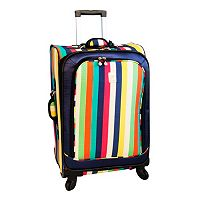 Jenni Chan Multicolor Stripes 360 Quattro Spinner Luggage