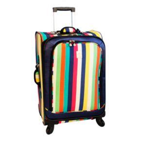Jenni Chan Multicolor Stripes 360 Quattro Spinner Luggage