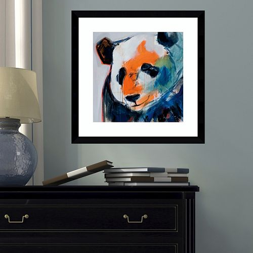 Amanti Art Call Me Panda Framed Wall Art